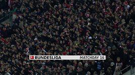 Sestřih utkání 16. kola Bundesligy Düsseldorf - Dortmund