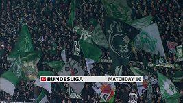 Sestřih utkání 16. kola Bundesligy Brémy - Hoffenheim