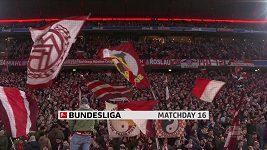 Sestřih utkání 16. kola Bundesligy Bayern Mnichov - Lipsko