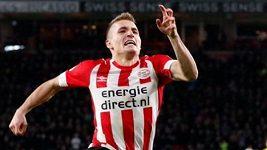 Sadílkův premiérový gól za PSV Eindhoven v nejvyšší nizozemské lize