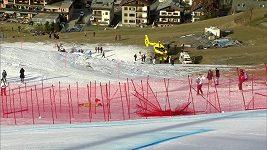 Drsná nehoda slovinského lyžaře