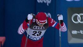 Triumf Rusa Usťugova. Tour de Ski v běhu na lyžích v Toblachu - muži, 15 km volně