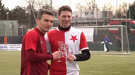 David Lafata pomohl Spartě dvěma góly k výhře v derby nad Slavií