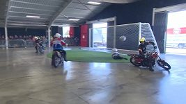 Motoball a šplh