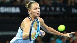 Karolína Plíšková je v Brisbane v semifinále