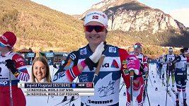 Östbergová míří za celkovým triumfem na Tour de Ski.