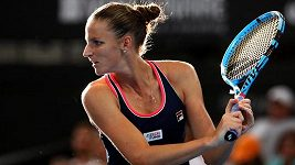 Sestřih finále Plíšková - Curenková v Brisbane