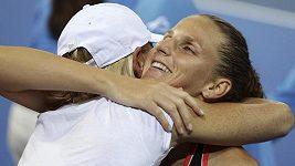 Karolína Plíšková po finále v Brisbane