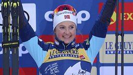 Östbergová slaví premiérový triumf na Tour de Ski