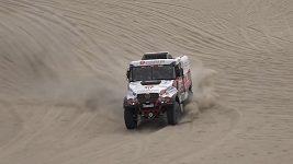 Aleš Loprais po 1. etapě Dakaru