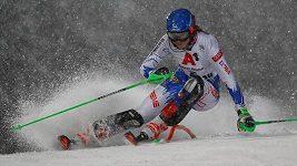 Sestřih závodu žen ve slalomu SP ve Flachau