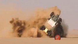 Děsivá havárie na Africa Eco Race