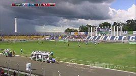 Kuriózní zranění na fotbale v Brazílii