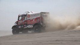 Aleš Loprais po 3. etapě Dakaru