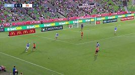 Fotbalista sestřelil míčem holuba
