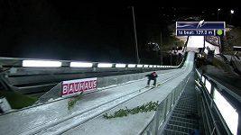 Nedělní závod skokanů vyhrál ve Val di Fiemme Polák Kubacki.