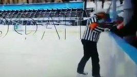 Rozhodčí napadl jedenáctiletého hokejistu