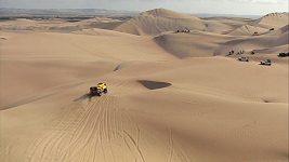 Tým Big Shock Racing v 6. etapě Dakaru