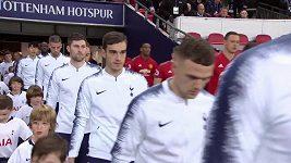 Sestřih utkání 22. kola Premier League Tottenham - Manchester United