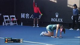 Andrea Petkovicová zkolabovala v zápase na Australian Open