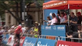 Druhou etapu Tour Down Under vyhrál Patrick Bevin