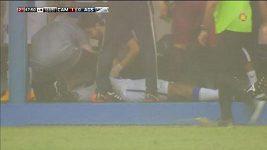 Fotbalistu v Brazílii zasáhl při zápase blesk.