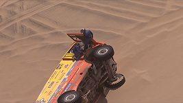 Buggyra v 8. etapě Dakaru