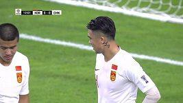 Sestřih utkání Korea – Čína z mistrovství Asie