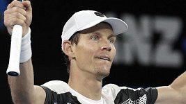 Berdych se na Australian Open probil už do osmifinále
