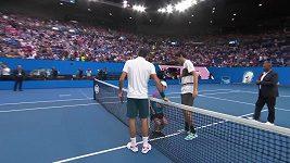 Roger Federer bez problémů postoupil do osmifinále Australian Open
