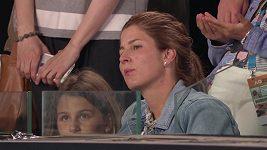 Fanoušky na Australian Open pobavil i syn hvězdného Federera