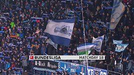 Sestřih utkání 18. kola fotbalové bundesligy Hoffenheim - Bayern