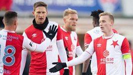 Slavia si v přípravě s chutí zastřílela proti Ústí