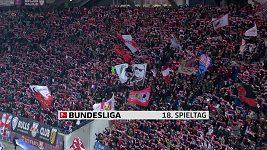 Sestřih utkání 18. kola Bundesligy Lipsko - Dortmund
