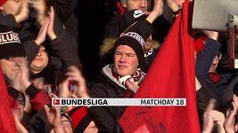 Sestřih utkání 18. kola Bundesligy Norimberk - Hertha Berlín