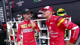 Mladý Schumacher závodil, tam kde kdysi jezdil i táta