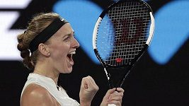 Petra Kvitová hodnotí svůj postup do semifinále Australian Open