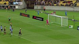 A-League, penalta v zápase Wellington - Sydney