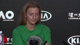 Petra Kvitová o finále Australian Open