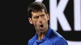 Novak Djokovič hladce zvládl semifinále Australian Open