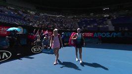 Samantha Stosurová a Čang Šuaj vybojovaly na Australian Open titul ve čtyřhře.