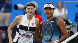 Finále dvouhry žen na Australian Open: Kvitová - Ósakaová
