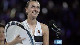 Česká tenistka Petra Kvitová a její hodnocení finále Australian Open