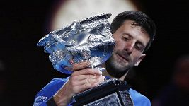 Djokovič posedmé vybojoval titul na Australian Open
