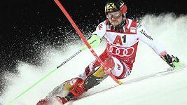 Marcel Hirscher při slalomu SP ve Schladmingu deklasoval konkurenci