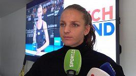 Karolína Plíšková si ve Fed Cupu proti Halepové věří