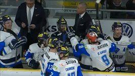 Kuriózní trefa v německé hokejové lize