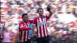 PSV si v nizozemské lize s chutí zastřílel