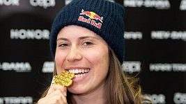 Záznam: TK s mistryní světa ve snowboardkrosu Evou Samkovou