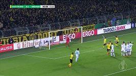Pavlenka slaví postup v poháru na hřišti Dortmundu.
